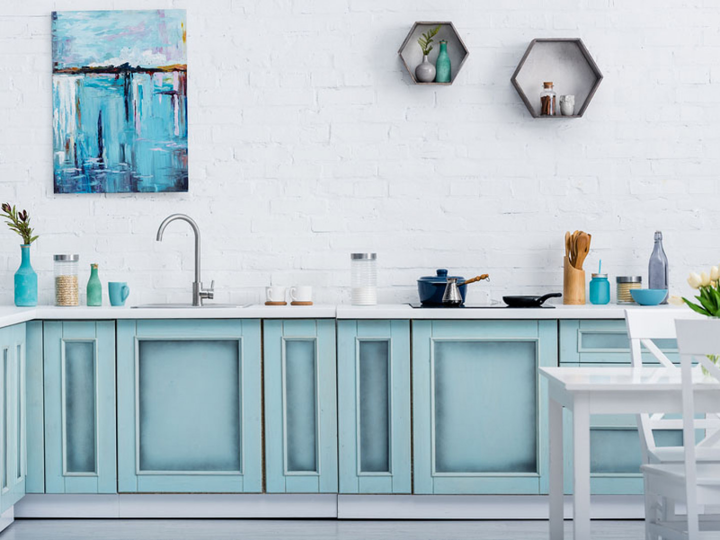 Add a Splash of Color to Your Kitchen